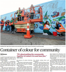 Container of Colour for Community